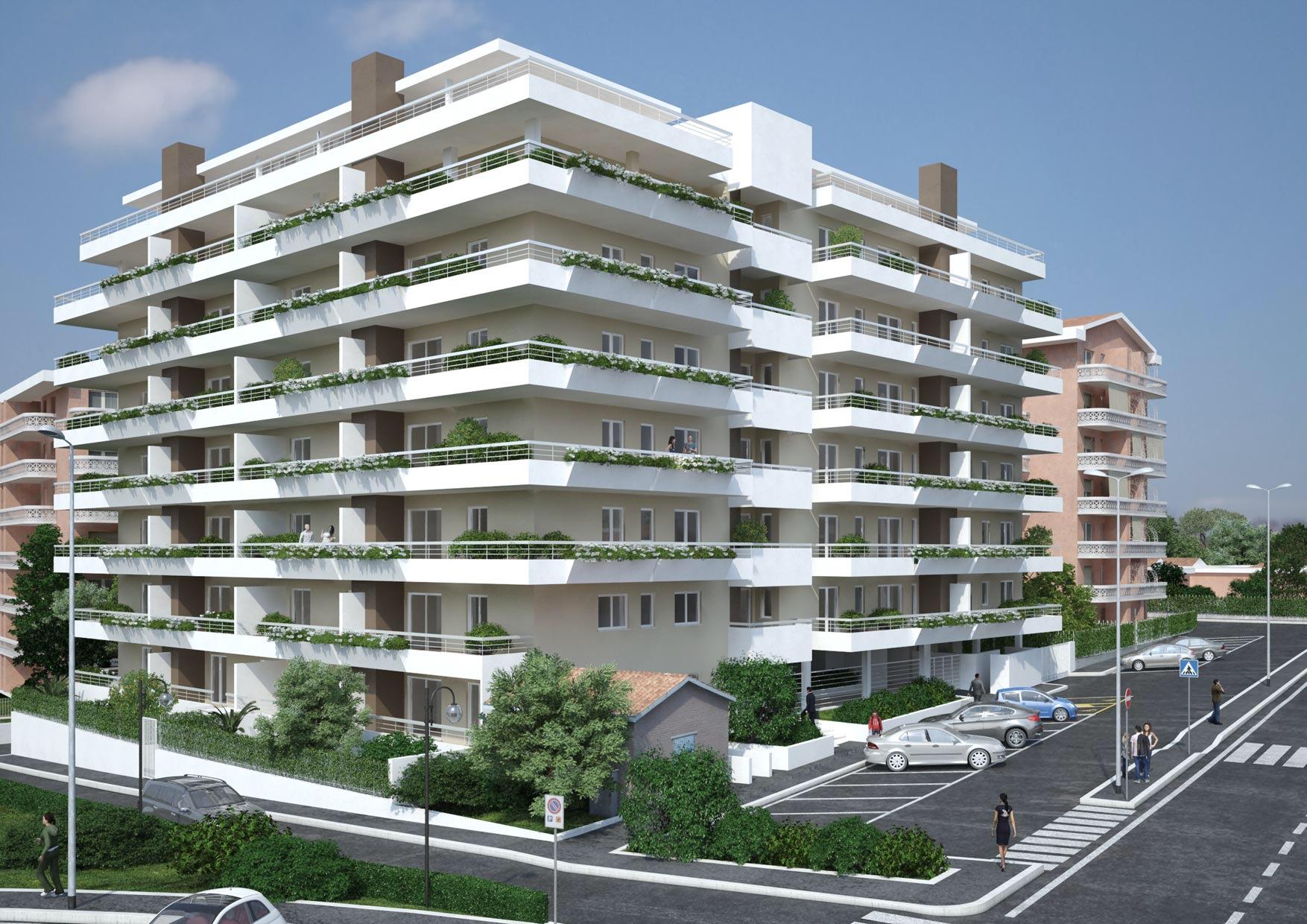 Casal boccone bufalotta roma abc re for Appartamenti vendita roma