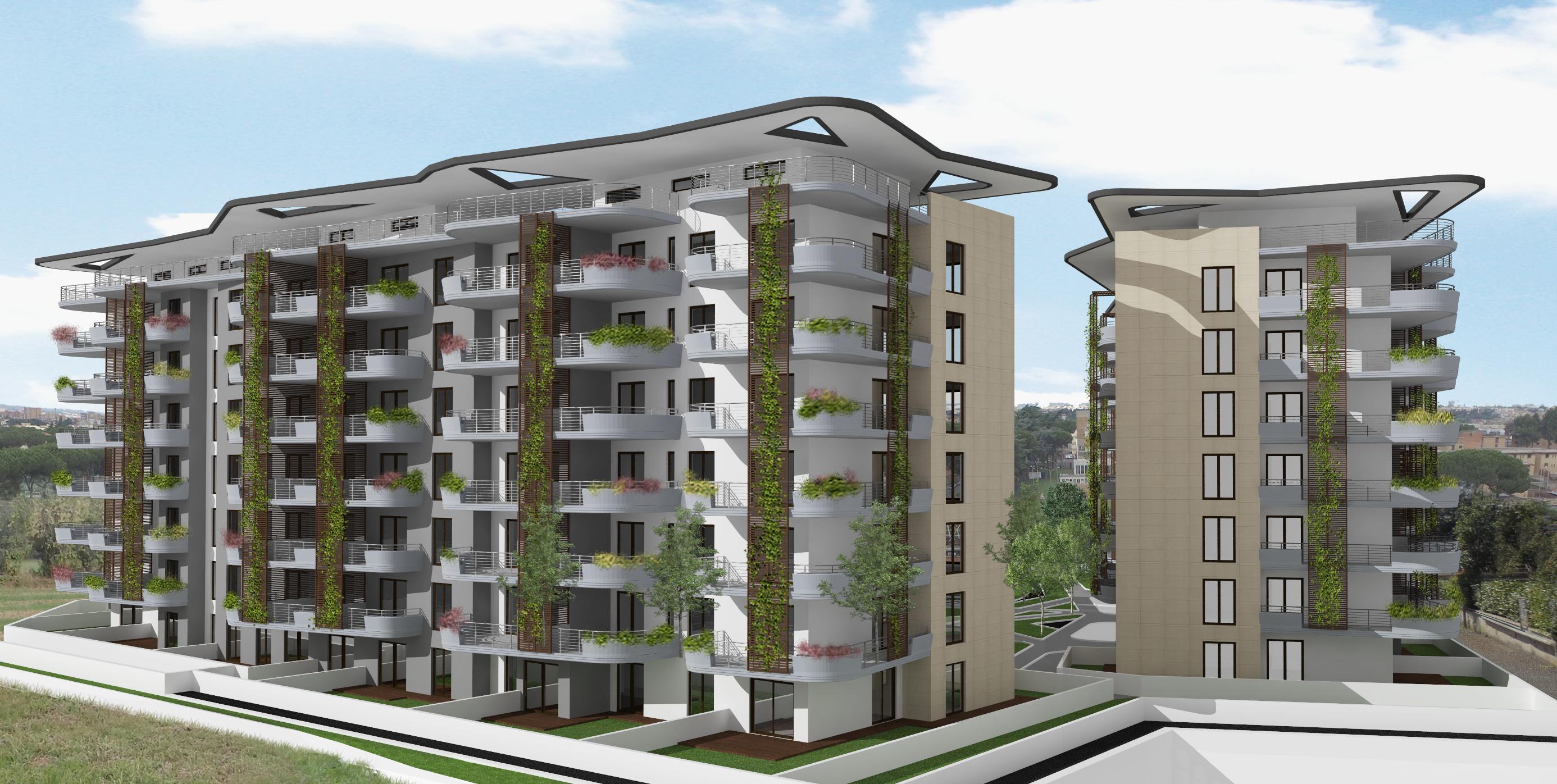 Bilocali nuova costruzione via Tiburtina