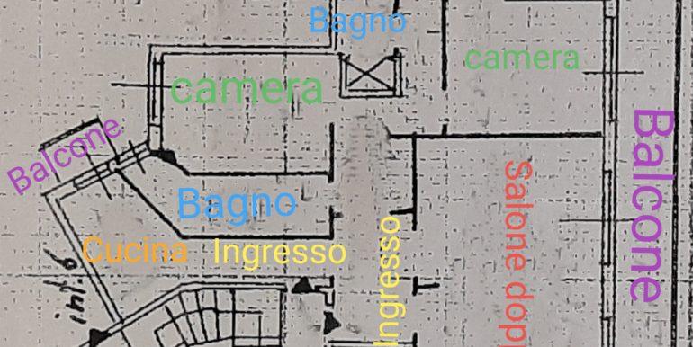 Planimetria via Fregene